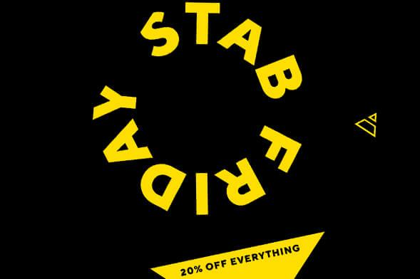 STAB FRIDAY SALE vom 21.11-25.11.2018