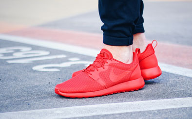 Nike Roshe One Hyperfuse - University Red