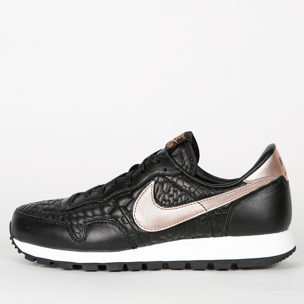 info for 9a796 172f7 ... purchase nike wmns air pegasus 83 premium quilted black metalic rose  gold fd80e 9b03c