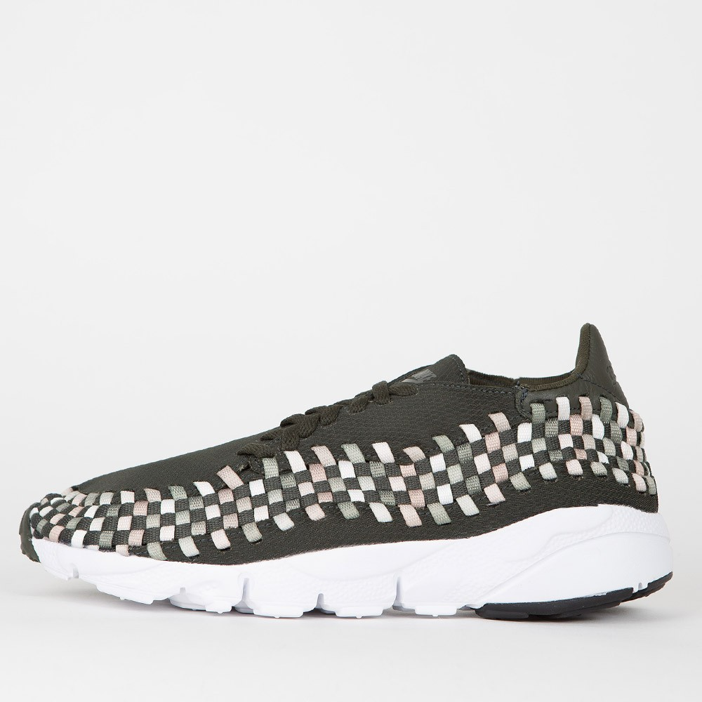 Nike Air Footscape Woven NM - Sequoia / Light Orewood Brown - Sail - White