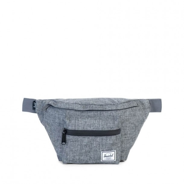 Herschel Supply Co. Seventeen Hip Pack Raven Crosshatch-01
