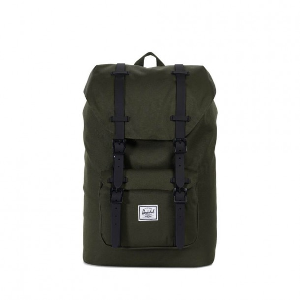 Herschel Supply Co. Little America Mid Backpack Forest Night-31