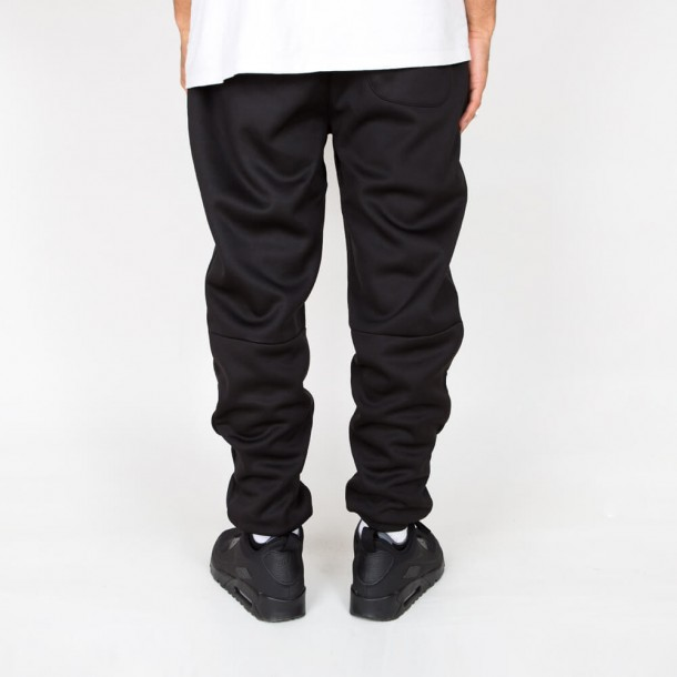 Stussy Bonded Fleece Pant Black-01