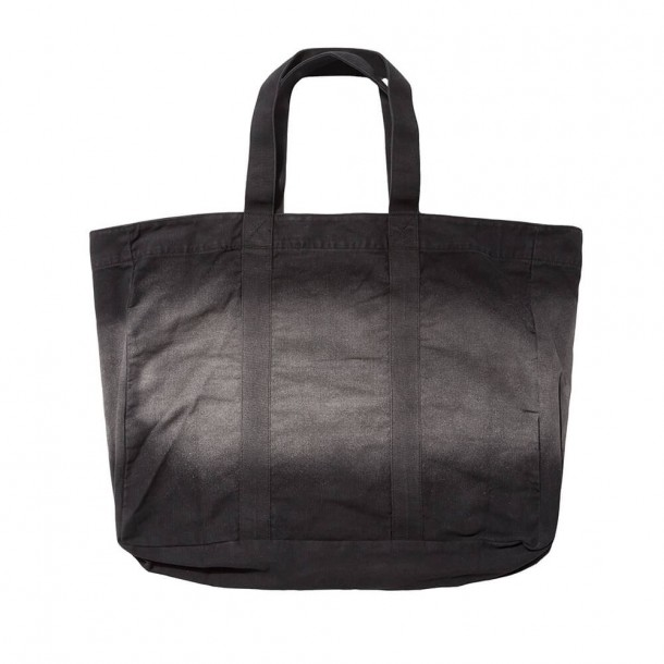 Stussy Bleach Stripe Beach Tote Black-01