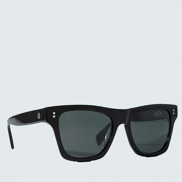 Stussy Norton Sunglasses Black / Dark Grey-01