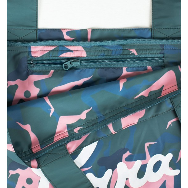 By Parra Tote Bag Musical Chairs Green-01