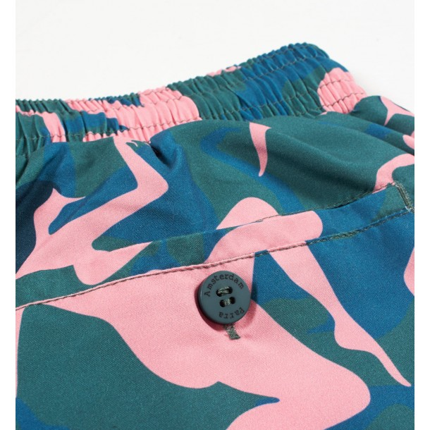 By Parra Summer Shorts Musical Chairs Green-01