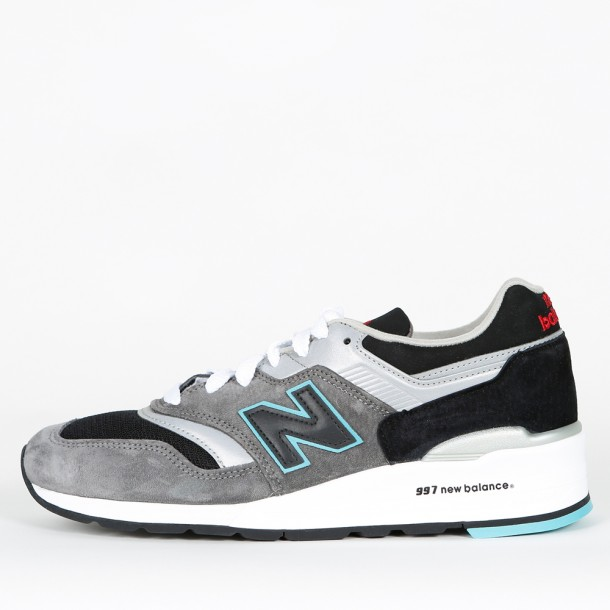 New Balance M997 CGB Grey / Black-01