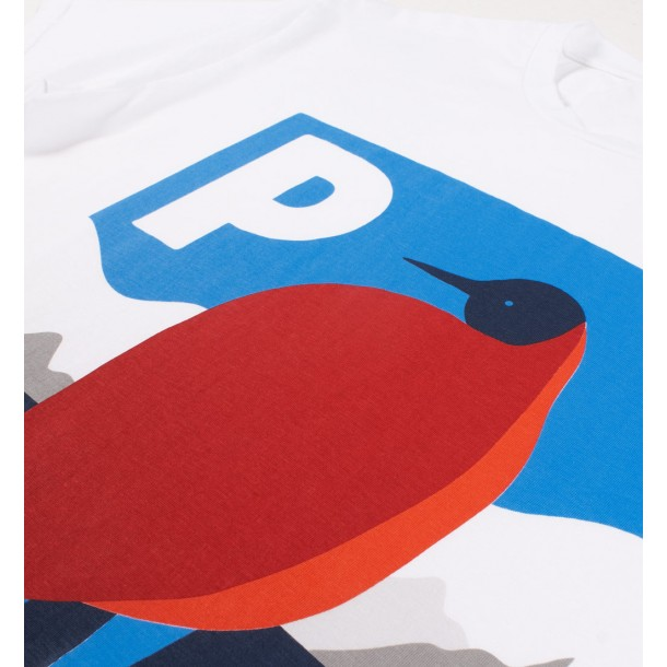By Parra T-Shirt Seahawk In Antarctica White-01