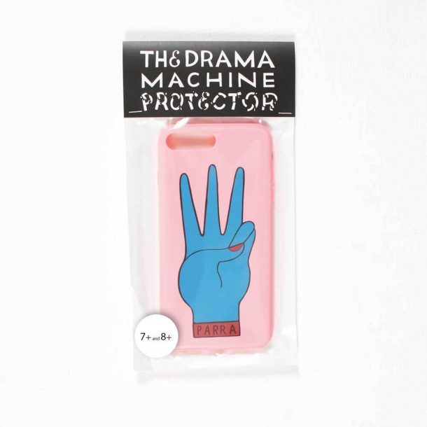 By Parra Iphone Case Third Prize 7 PLUS or 8 PLUS Pink Blue-01