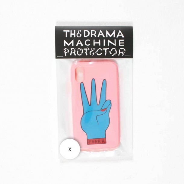 By Parra Iphone Case Third Prize X Pink Blue-01