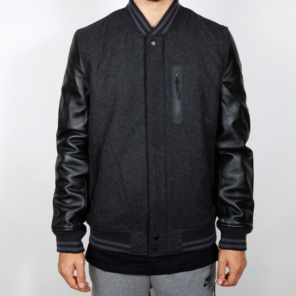 Nike Destroyer Jacket Black Heather / Black-01