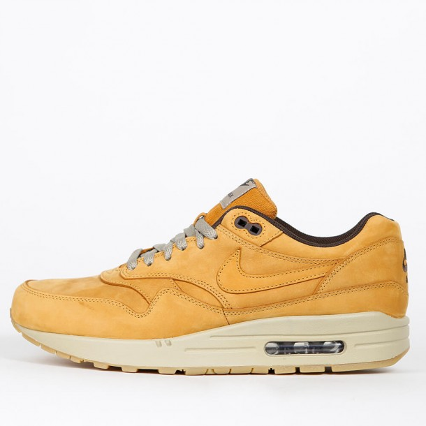 on feet at offer discounts factory outlet Nike Air Max 1 Leather Premium - Wheat Pack - Bronze ...