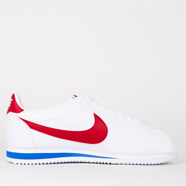 Nike Classic Cortez Ltr White / Royal / Red-01