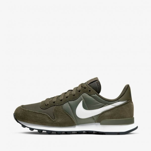 Nike Wmns Internationalist Cargo Khaki / Summit White Medium Olive-01