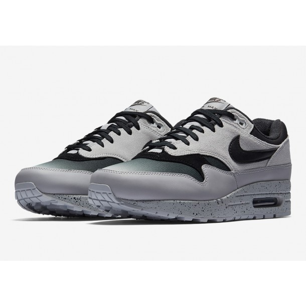 Nike Air Max 1 Premium Pure Platinum Black Wolf Grey