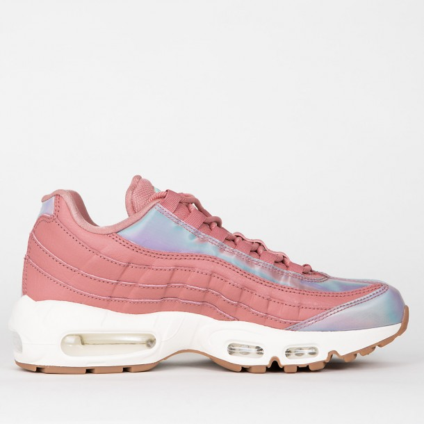 Nike Wmns Air Max 95 SE Red Stardust Washed Teal Sail