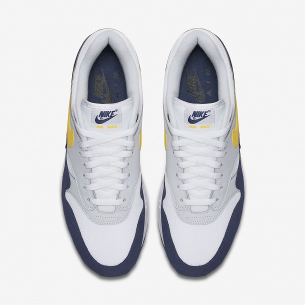 Recall Yellow Air Tour White Blue Nike Max 1 53AR4jL