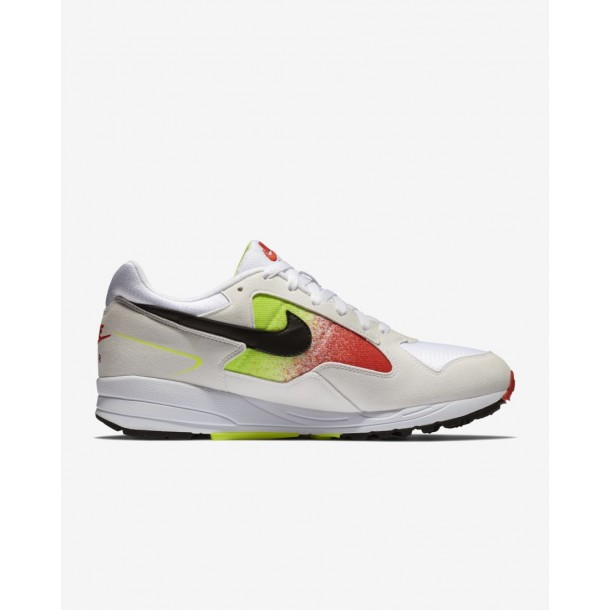 Nike Air Skylon II White / Black Volt Habanero Red-01