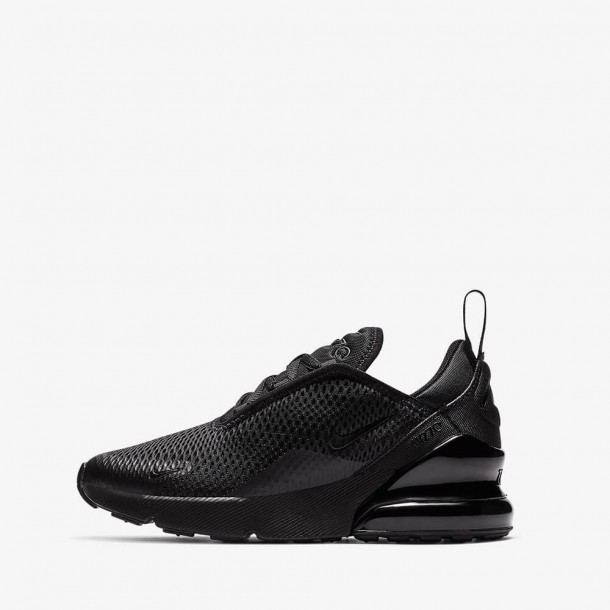 Nike Air Max 270 (PS) Black / Black Black-01