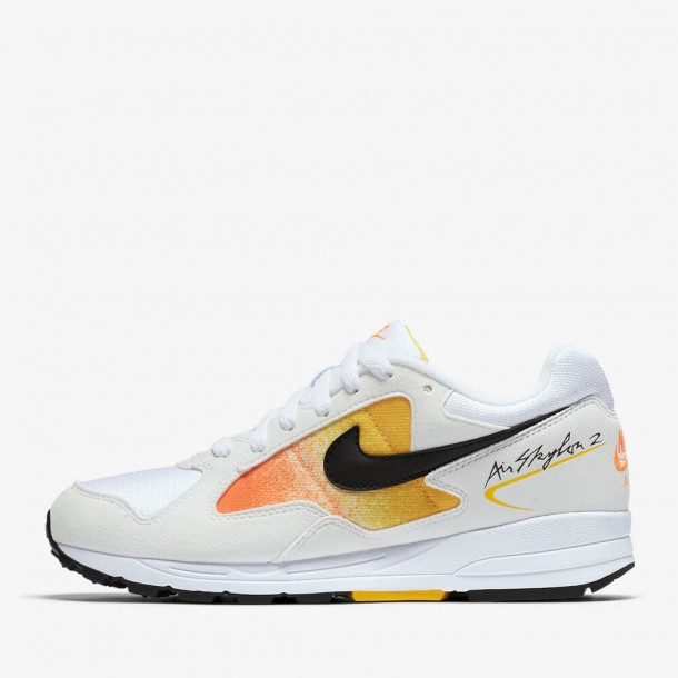 Nike Wmns Air Skylon II White / Black Amarillo Total Orange-01