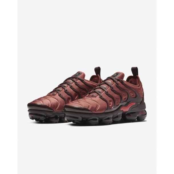 Nike Wmns Air Vapormax Plus Burnt Orange / Habanero Red Burgundy Crush-01