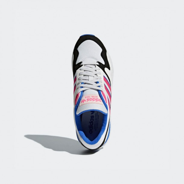 Adidas Ultra Tech Crystal White / Shock Pink / Core Black-01