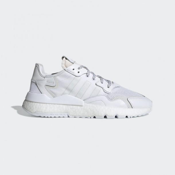 Adidas Nite Jogger Ftwr White / Crystal White / Grey One-01