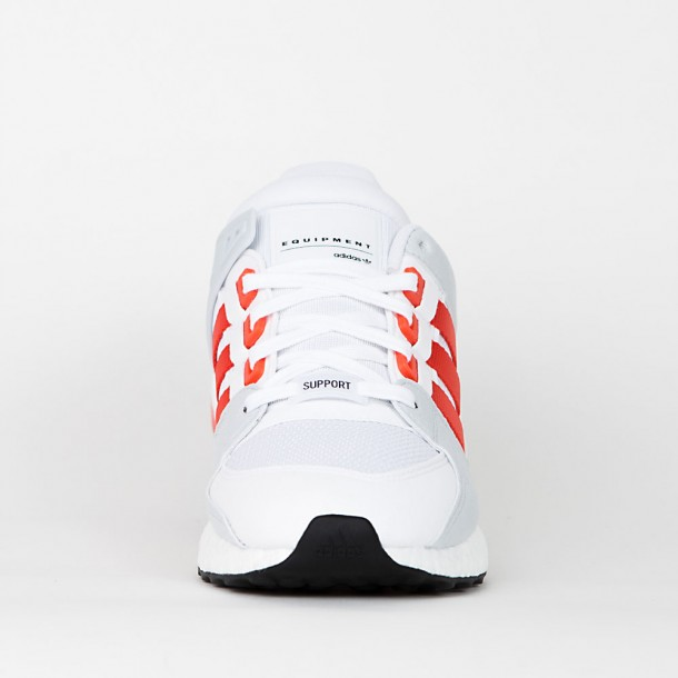 Adidas Equipment Support Ultra Footwear White / Bold Orange / Clear Grey S12-01
