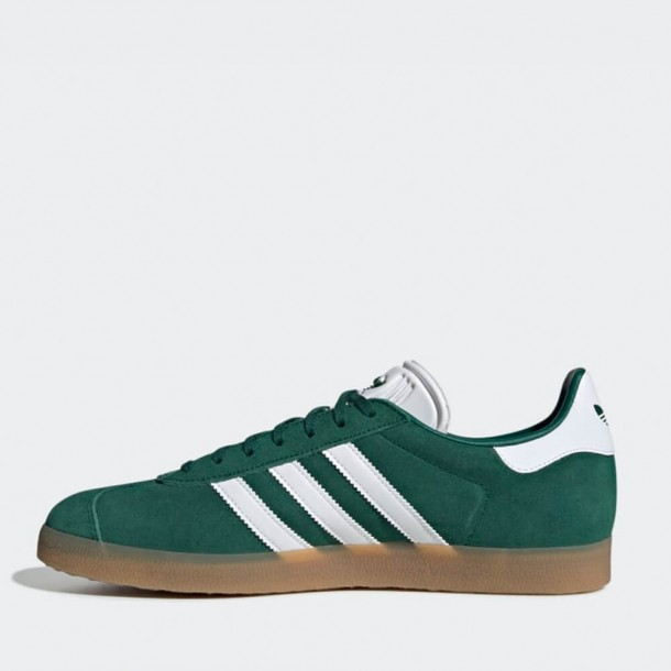 low price sale new images of authorized site Adidas Gazelle - Collegiate Green / Ftwr White / Gum 3 ...