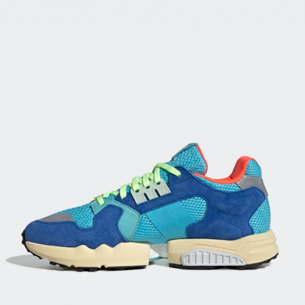 Adidas ZX Torsion Bright Cyan / Linen Green / Blue-01