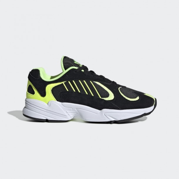 Adidas Yung-1 Core Black / Core Black / Hi-Res Yellow-01