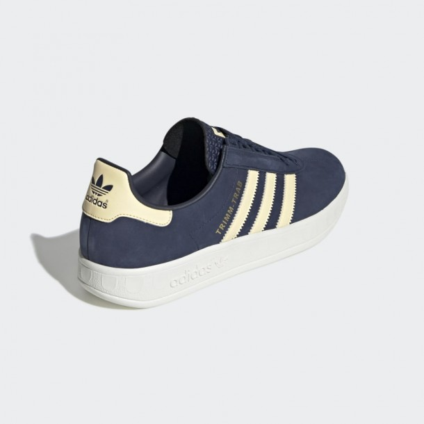 Adidas Trimm Trab Samstag Collegiate Navy / Easy Yellow / Cream White-01