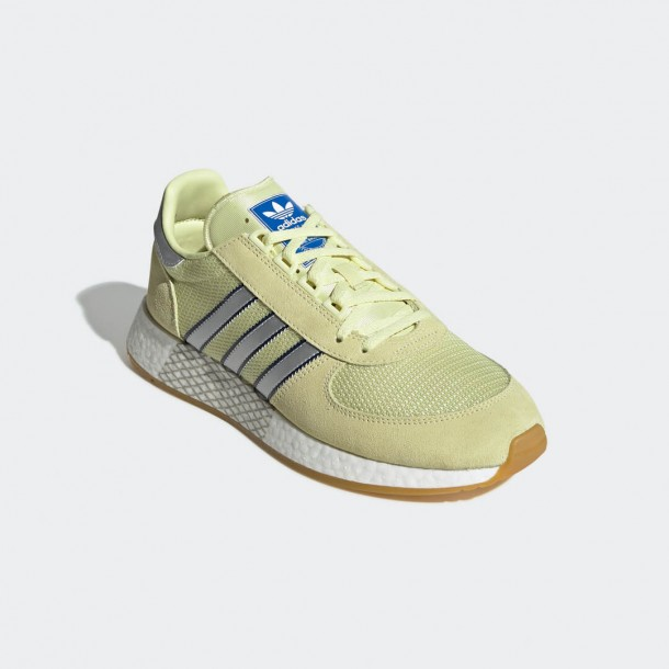 Adidas Marathon Tech Easy Yellow / Silver Met. / Dark Navy-01