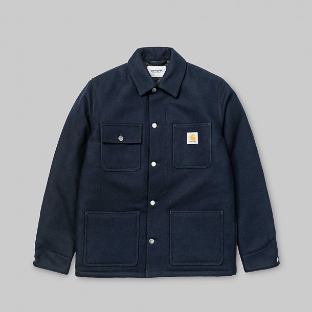 Carhartt WIP Michigan Chore Coat Dark Navy-31