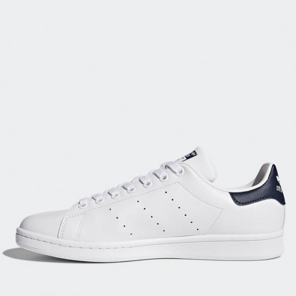 Adidas Stan Smith Core White / Dark Blue-01