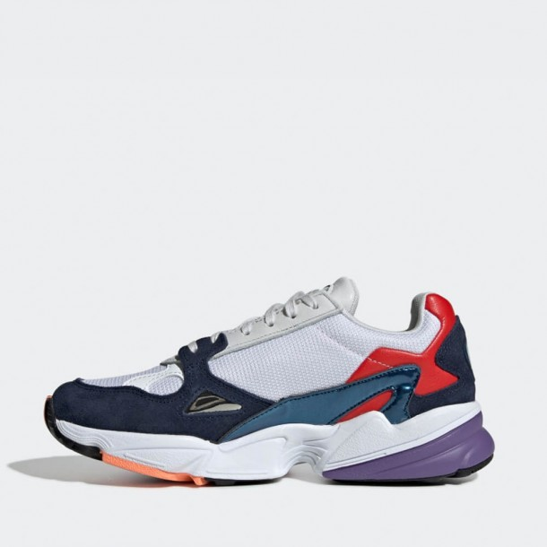 Adidas Falcon W Crystal White / Collegiate Navy-01
