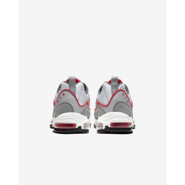 Nike Air Max 98 Particle Grey / Track Red Iron Grey-01