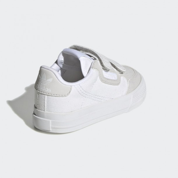 Adidas Continental Vulc CF Cloud White / Cloud White / Grey One-01