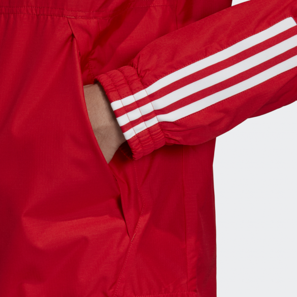 Adidas Lock Up Windbreaker Jacket Lush Red-01