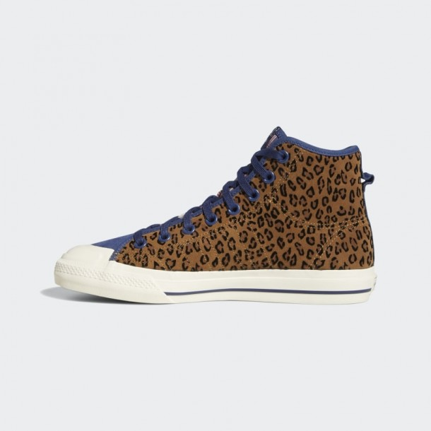 Adidas Nizza Hi RF Tech Indigo / Cream White/ Gum4-01
