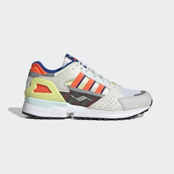 Adidas ZX 10,000 Grey One / Solar Red / Cloud White-011