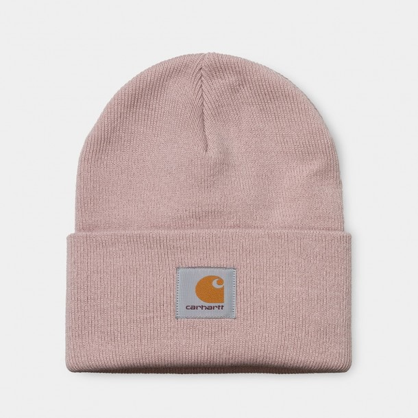 Carhartt WIP Acrylic Watch Hat Frosted Pink-31