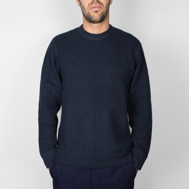 Carhartt WIP Mason Sweater Dark Navy Heather-01