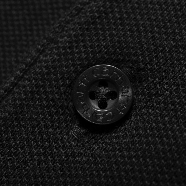 Carhartt WIP S/S Chase Pique Polo Black / Gold-01