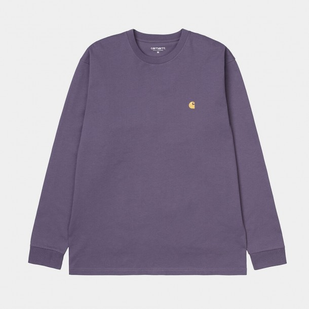 Carhartt WIP L/S Chase Shirt Provence / Gold-31