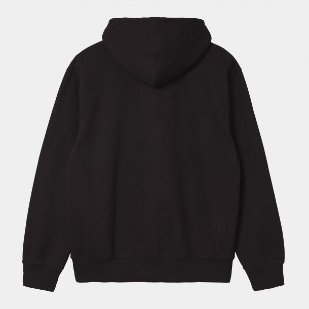 Carhartt WIP Hooded Runner Sweat Black-01