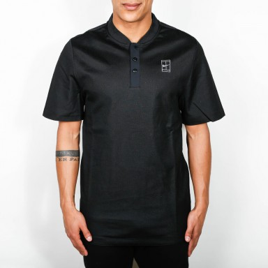 Nike Court Polo - Black / White