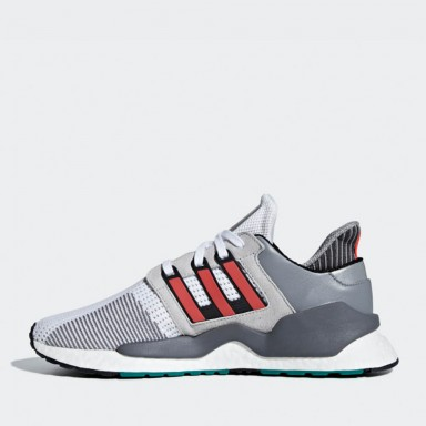 premium selection 142e3 5a2ff Adidas EQT Support 91 18 - Ftwr White   Hi-Res Red   Grey