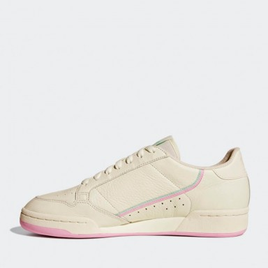 best service 10740 6284a Adidas Continental 80 - Off White   True Pink   Clear Mint